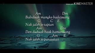 Kunci Gitar Ipank Feat Rayola Rantau den pajauah