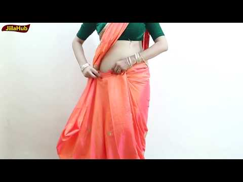 Perfect Way To Get Proper Saree Drape | How To Wear Indian Sari Very Fast & Easy Way