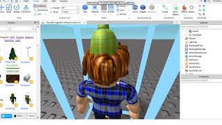 HOW TO CREATE A MODEL OF YOUR ROBLOX'S LITTLE DOLL AND HOW TO PAINT YOUR MAP FLOOR!