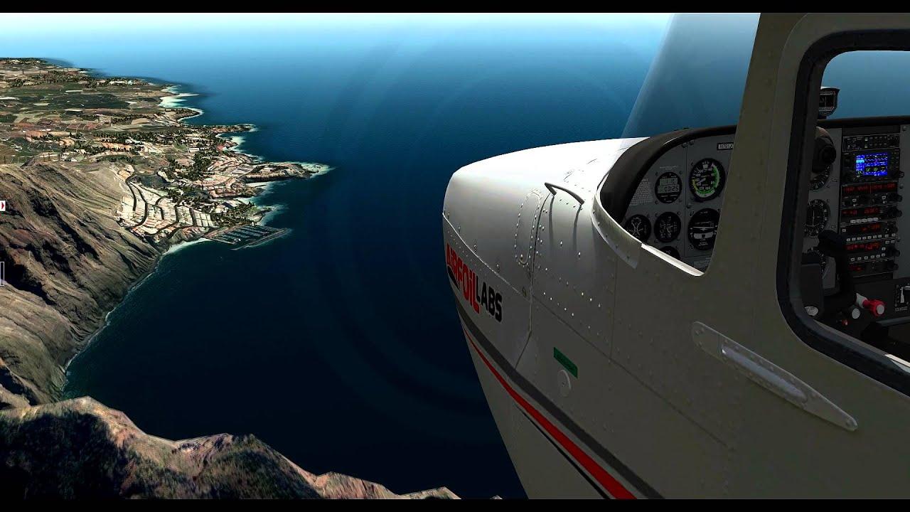X Plane 10 Tenerife UHD by Simulation X-Plane 10