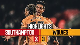 JIMENEZ, NETO AND TRAORE LEAD INCREDIBLE COMEBACK! Southampton 2-3 Wolves | Highlights