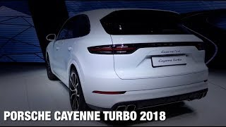 Обзор Porsche Cayenne Turbo 2018