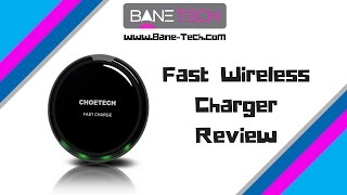 Fast Wireless Charger CHOE Circle QI - for Note 5, S6 Edge+ and All Qi-Enabled Devices