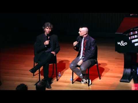 Artist in Residence Cameron Carpenter Speaking With Damian Woetzel