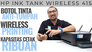 Review Printer HP Ink Tank Wireless 415 All-in-One Print-Scan-Copy - Bahasa Indonesia