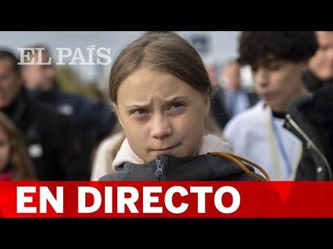 DIRECTO MADRID  GRETA THUNBERG da una rueda de prensa antes de la MANIFESTACIÓN POR EL CLIMA