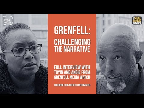 Challenging The Narrative - Grenfell MediaWatch