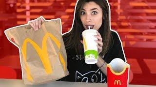 24 HORAS COMIENDO EN MCDONALDS   Lyna Vlogs
