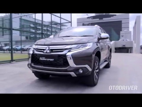 Mitsubishi All New Pajero Sport 2016 - First Drive Review Indonesia - OtoDriver (English Subtitled)