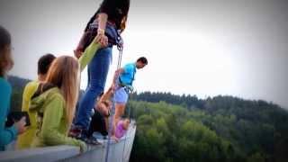 Skok z Dalešického mostu :)