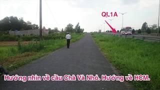 Bán 1.924,1m2 (300m2 thổ cư), sổ đỏ Đông Bình, Bình Minh, Vĩnh Long (gần cầu vượt Cần Thơ QL1A)