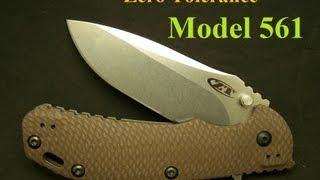 """Zero Tolerance Model 561 Hinderer Knife """"Awesome!"""""""