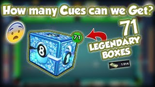 8 Ball Pool - Luck? Opening 70+ Legendary Boxes | 50M Berlin W…