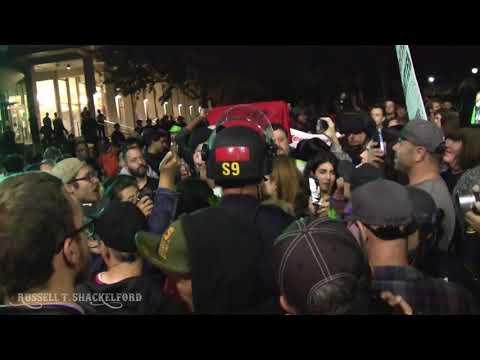 Berkeley 9/14: Mob Surrounds & Follows Stickman & Amber Cummings on Telegraph