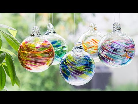 Kitras Art Glass | Recycled Glass Ornaments