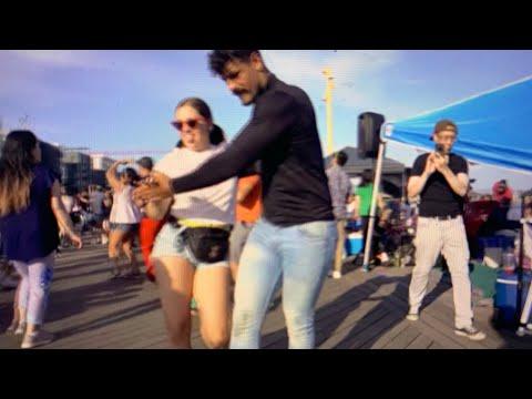 "Oakland Dancer Carmen Veronica Moves And Shakes At Brooklyn Basin ""Bachata By The Basin"""