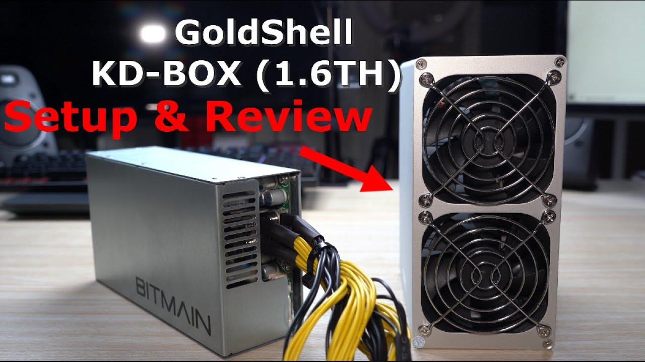 Goldshell KD-Box (Kadena Miner) - Full Setup, Review & Profit After 6 Days