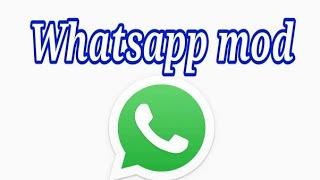 Gambar cover Whatsapp MOD apk 2019 terbaru   #whatsappmod link di deskripsi