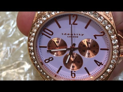 Identity London Ladies' Watch,Lilac Color-Unboxing | 4K