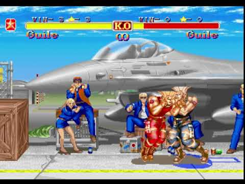Music Super Street Fighter 2 Turbo Guile Stage And Music Fast