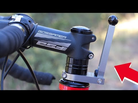 The SteerStopper - An Innovative Bicycle Stabilizer to Help You Safely Park Your Bike