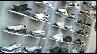 Reebok showroom in India: expensive