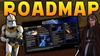 ROADMAP UPDATE: Clone Wars Content, Geonosis Delayed & More - Star Wars Battlefront 2