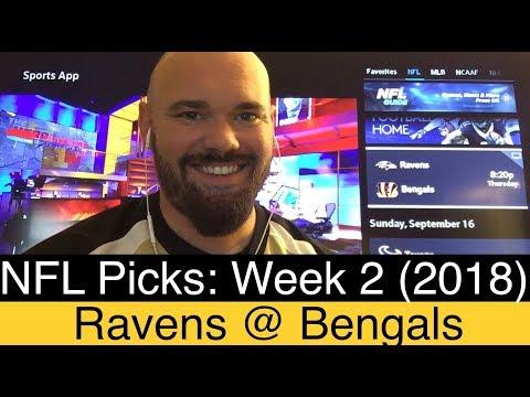 Ravens vs Bengals Prediction | NFL Week 2 Picks (2018) | Baltimore at Cincinnati Preview