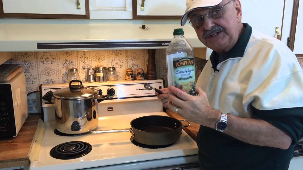 Eggplant Parmesan (Alton Brown's 1 Minute Version) - YouTube