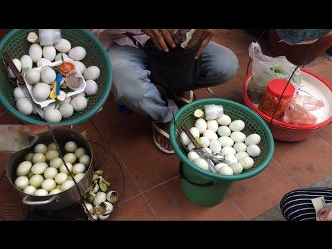 Asian Street Food, Fast Food Street in Asia, Cambodian Street food #237