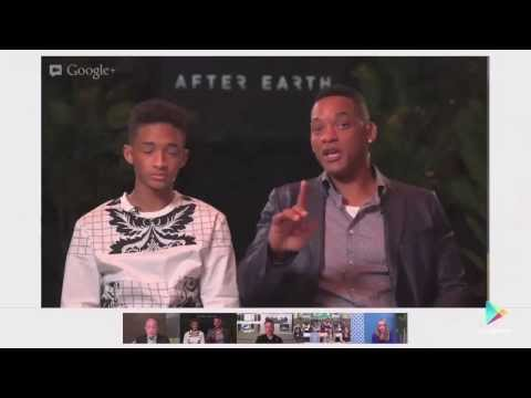 After Earth Hangout: Will + Jaden Smith, Elon Musk and Ray Kurzweil