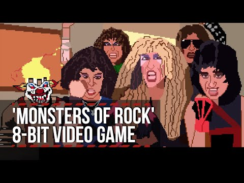 'Monsters of Rock' 8-Bit Video Game Feat. Guns N' Roses, Motley Crue, Twisted Sister + More