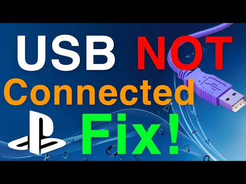 PS4 How to Fix USB not connected Not Working! Easy FIX!