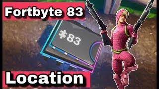 Fortnite Fortbyte #83 Location - Found In A Rock Garden Near The Coast | How To Unlock Fortbyte 83