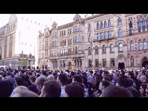 Tommy Robinson in Manchester: I changed my mind about vigils today