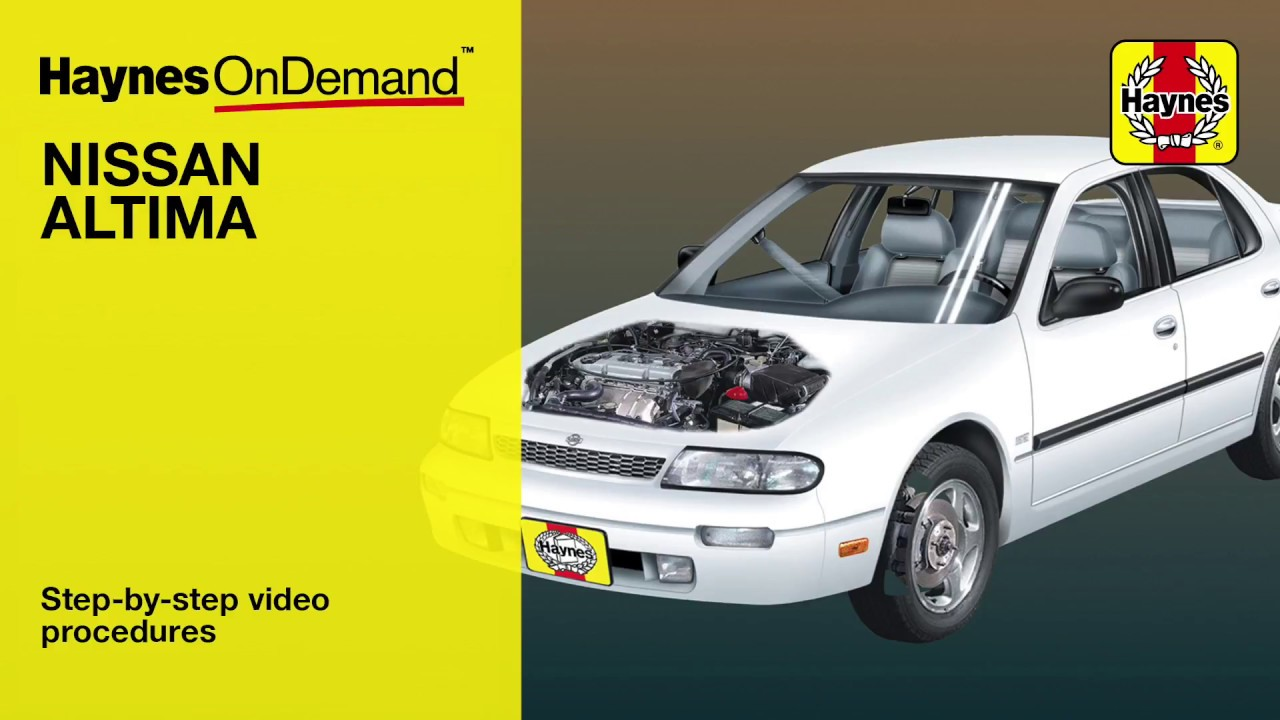 haynes manuals nissan altima 1993 2006 ondemand preview youtube rh youtube com
