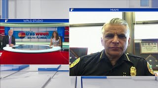 Miami Police Chief Jorge Colina discusses night of protests on TWISF