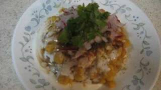 Aloo Chaat/Aloo Tikki - Indian Vegetarian Chaat Recipe By Neha