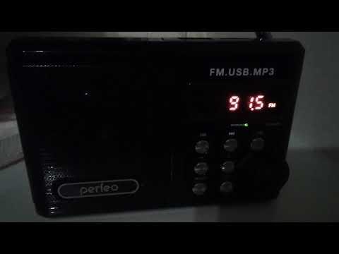 Радио из Татарстана. Казань. FM 91.5 МГц / Расстояние 150 км.