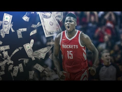 Clint Capela Re-Signs Rockets $90M 5 Years! 2018 NBA Free Agency