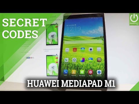HUAWEI MediaPad M1 CODES / Secret Menu / Hidden Options
