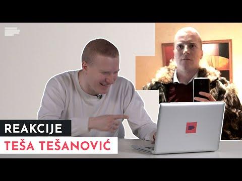 Teša Tešanović reaguje na mimove o Teši Tešanoviću | MONDO REAKCIJE | S01E05