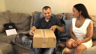 Telling your husband you are pregnant ... on his birthday!(this baby is now an angel)