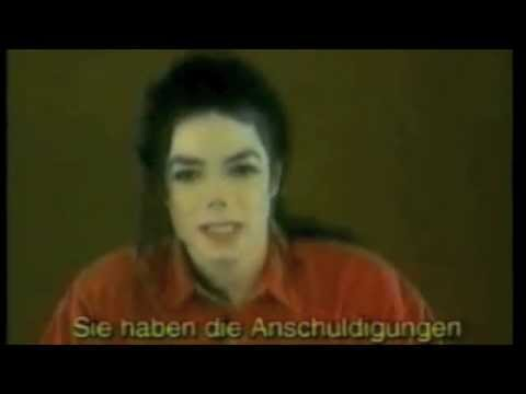 Michael Jackson Responds to Allegations of child molestation