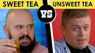 Sweet Tea vs. Unsweet Tea - Back Porch Bickerin'