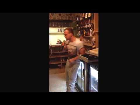Danny the singing Bar man
