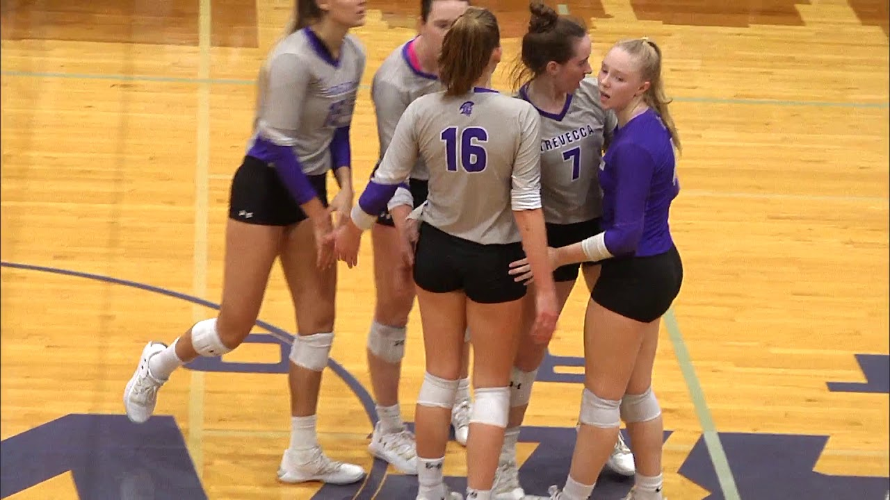 Trevecca Volleyball Highlights Vs Ohio Valley 20191026 Youtube