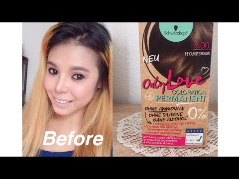 outlet so cheap best sell SCHWARZKOPF hair color new only Love coloration permanent
