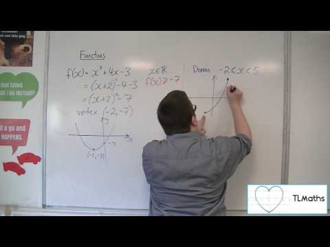 A-Level Maths: B8-05 Functions: Restricting the Domain