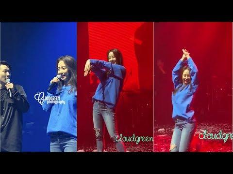 Song Ji Hyo Cute And Sexy Performs 'Gashina' And 'Love Battery' (Hong Jin Young) At HaHa's Concert